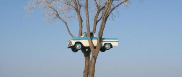 Truck-in-tree