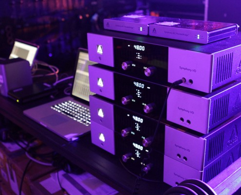 Apogee recording rig for Sara Bareilles