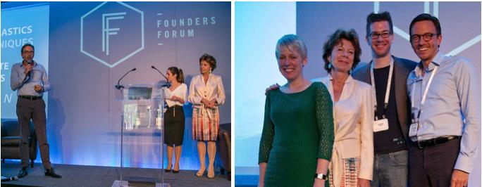 Parx Plastics presenting at Founders Forum