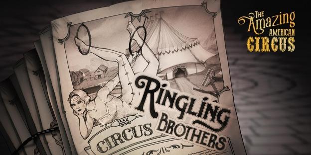 El videThe Amazing American Circus, que saldrá a la venta en PC y consolas el 16 de septiembre.